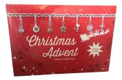 Christmas Advent Charm Calendar Bracelet and Necklace