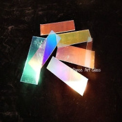 DichroMagic 0.1kg Dichroic Thin Clear COE 90 Jeweller's Scrap Fusing Supplies