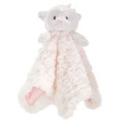 Pink & White Lamb Security Blanket