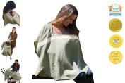Organic Multipurpose Nursing Cover - Sonoma Olive/Beige