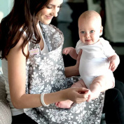 YOFIT Breastfeeding Nursing Cover, Breathable 100% Cotton and Quality Assurance - AZO Free