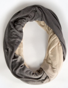 Loop-dee Dark Grey Ombre' Nursing Infinity Scarf