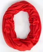 Loop-dee Deep Red Nursing Infinity Scarf