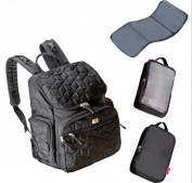 LiliChan Forma Pack and Go Nappy Backpack for Mom, Black