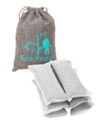 Set of 6 Large (50g) Bamboo Charcoal Nappy Pail Household Deodorizers