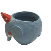 Infinal Creative Resin Flower Pots Office Decoration Animal Pots