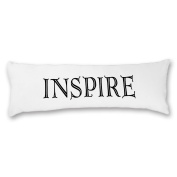 """DKISEE """"INSPIRE"""" Body Pillowcase, Soft Home Decoration Hypoallergenic Bed 20x54 Body Pillow Sham Cover Zippered"""