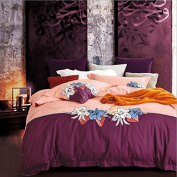 Reactive printing of cotton fashion mix and match sheets four set bedding , 7 , 200*230cm