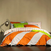 Simple Style Bedding 3D Four Sets Of AB Version Of Mixed Cotton Bed Sheets Quilt (For 1.5M-1.8M Bed) , 9 , 200*230