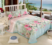 Thicker Washable Sheets Can Be Washed With Ice Sheets,Green