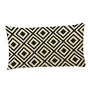 good01 Home Decoration Geometric Patterns Rectangle Pillow Case Cushion Cover