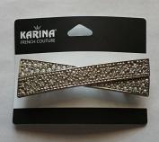 Karina French Couture elegant bow hair barrette
