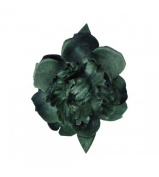 Green Large Peony Updo Hair Clip Flower