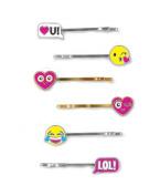 CHARM IT! Emoji Bobby Pin Party Set