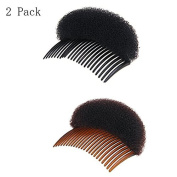Generic Women Lady Girl Hair Styling Clip Stick Bun Maker Braid Tool Hair Accessories Pack of 2