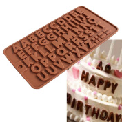 DEESEE(TM) Silicone Donut Muffin Chocolate Cake Candy Cookie Cupcake Baking Mould Mould Pan (B