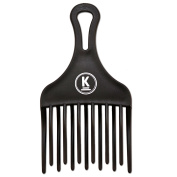 K-Pro Afro Comb - Curly Hair & Wide Tooth Comb - Plastic