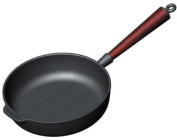 Carl Victor Serving Pan 28 cm Cast Iron with Wooden Handle