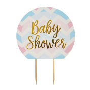 Neviti Pattern Works Cake Topper Baby Shower, Multi-Colour