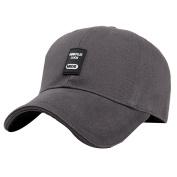 AiSi Cotton Baseball Cap Solid Colour Hat Adjustable Caps