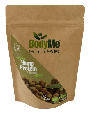 BodyMe Organic Hemp Protein Powder | 500 g | Soil Association Certified