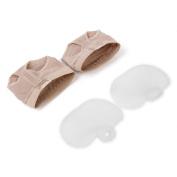 Jili Online Silicone Gel Metatarsal Pad Ballet Dance Foot Thong Callus Cushions Forefoot Pads