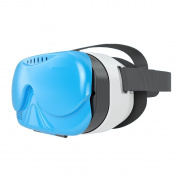 Wearing Style Comfortable Film Fashion Convenience Three-dimensional Virtual Reality 3D Glasses,Blue