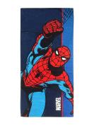Marvel Spiderman Spider Stripe Cotton 70cm x 150cm Cotton Pool/Beach/Bath Towel
