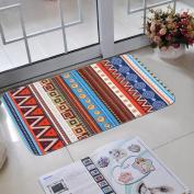 SMYTShop Non-slip MatsPrinted Bathroom Kitchen Rugs Doormats Carpet For Living Room Non-slip Mats