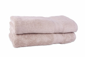 Revere Mills Boutique 2pc Bath Sheet, Putty