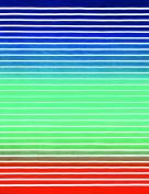 Pattern Stripes Brazilian Velour Beach Towel 150cm x 190cm