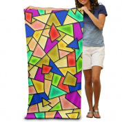 Macevoy Colourful Adult Beautiful Super Absorbent Beach Towel On The Beach 80cm130cm