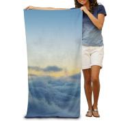 Macevoy Colourful Sky Adult Good Super Absorbent Towel In Beach On The Beach 80cm130cm