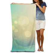 Macevoy Colourful Adult Beautiful Super Absorbent Polyester Velvet Beach Towels On The Beach 80cm130cm