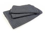 Starfiber Microfiber Waffle Bathroom Towel Kit