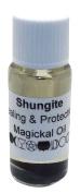 Shungite Gemstone Infused Magickal Incense Oil
