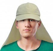 Sun Blocker Outdoor Sun Protection Hat Fishing Cap with Neck Flat for Baseball, Backpacking, Cycling, Hiking, Garden, Hunting, Camping