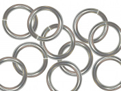 .925 Sterling Silver Jump Ring Opened 10 pcs 3mm x 0.6mm + BONUS. S925 Handmade Silver Jewellery Making DIY Jewellery Supplies BEEZZY BEEDZ