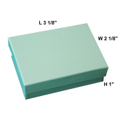 Cotton Filled Jewellery Gift Box (Teal) #32 Pack Of 16