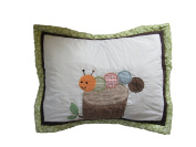 Tiddliwinks Woodland Caterpillar 50cm x 70cm Pillow Sham