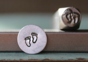 Brand New Supply Guy 6mm Baby Feet Metal Punch Design Stamp CH-138