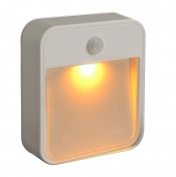 Mr. Beams MB720A Sleep Friendly Battery-Powered Motion-Sensing LED Stick-Anywhere Nightlight with Amber Colour Light