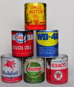 Set of 6 Retro Gift oil Motorcycle Car Mechanic Gfit Tea Coffee mugs