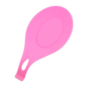 HENGSONG Spoon Rest, Kitchen Silicone Spoon Holders for Kitchen Accessories, Spoons, Spatula, Brushes, Cutlery