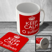 MAC_CKCSNAME_923 I Can't Keep Calm, I'm an O sullivan - Mug and Coaster set