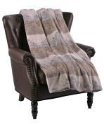 BOON Micro Flannel Naomi Throw, 150cm x 180cm , Ash