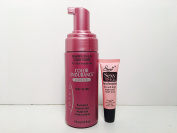 Joico Foaming Leave-in Conditioner (colour lock (4.2 oz) - Free Starry Lip Plumping Gloss 10ml
