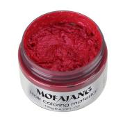 Wensltd 7 Colours Hair Care DIY Hair Clay Wax Mud Dye Cream Temporary
