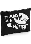 Danni Rose Mad Hatter Make up bag / clutch bag
