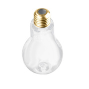 Sumen Fashion Cute Creative Light Bulb Water Bottle Milk Tea Juice Bottles